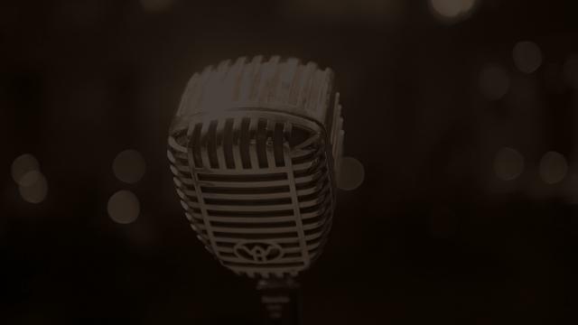 Hintergrundbild Mikrofon