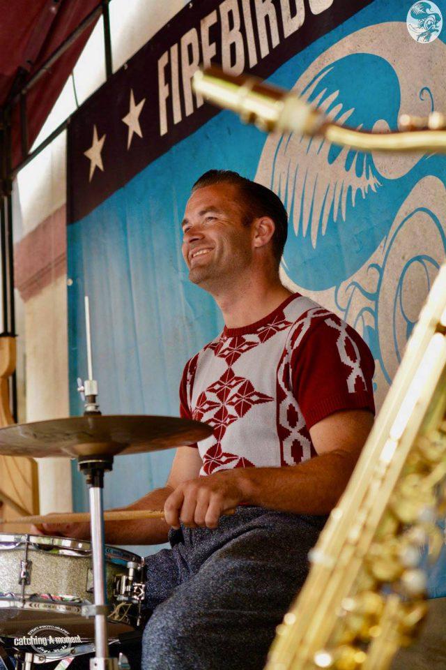 Schlagzeuger Michael